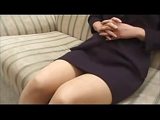 Sexy asian milf loves cock