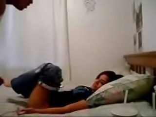 Riya Desi indian college teen sex with bf in hotel rom