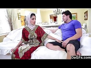 Nadia Ali with White Dick