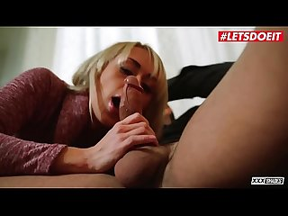 LETSDOEIT - Hungarian Babe Christina Shine Satisfie Her BF Foot Fetish