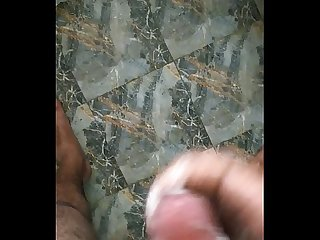 Hot Bangalore guy masturbating after watching porn