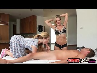 Busty milf Brandi Love threesome session with Taylor Whyte