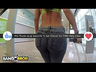 BANGBROS - Public Anal Sex In Airport Garage With PAWG Franceska Jaimes