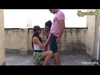 MAMACITAZ - Nasty Wild Babe Tina Kay Has Fun Fuck With Creampie On The Rooftop