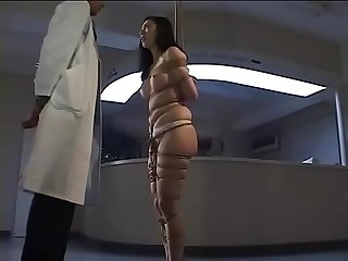 Dirty asian bitch Arimi Mizusaki is all tied up, gagged and whipped until she cries.WMV