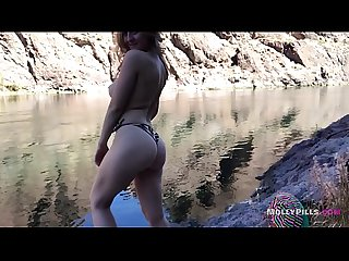 Amazing Outdoor Public Sex with my Real Girlfriend Public Creampie Experience - Molly Pills -..