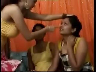 Naughty Desi Indian Chick Enjoying A Song In Lesbian Porn