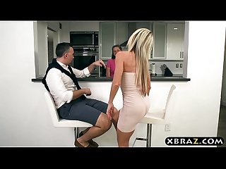 Divorced hot mature woman seduces her sisters husband