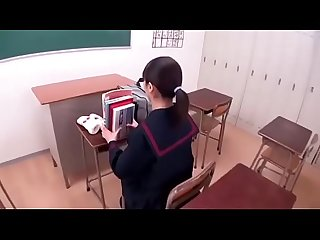 Japanese Schoolgirl Sucking on Man's Nipples - Full video:..