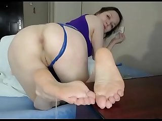 White girl anal ass with creampie