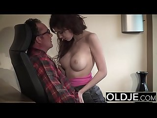 Bubble butt young beauty fucked during job interview