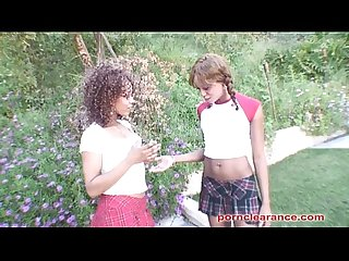 Misty Stone And Morning Star Pound Pussy