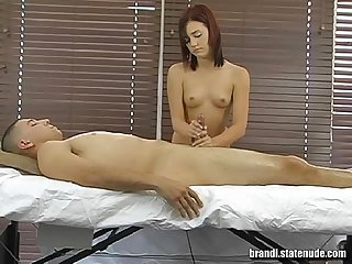 Naked Teen Girl Rub and Tug - Brandi Belle