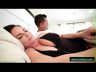 Hot and Mean - My Mom Fucked My Girlfriend with Diamond Foxxx & Kendall Kross free clip-01