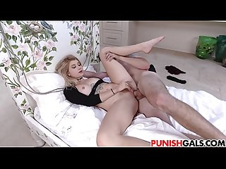 Arya Faye gets more than she wanted