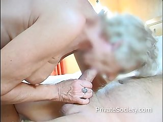 Sexy Senior Soaks The Sheets