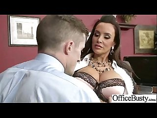 (lisa ann) Big Tits Office Slut Girl Banged Hardcore vid-19