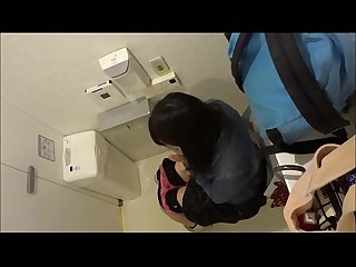 asian girl peeing toilet voyeur