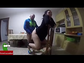 Hungry for sex.Taped with spycma. Homemade video with an amateur couple RAF047
