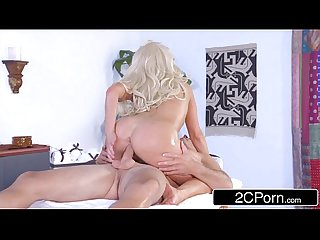 Cock Masseuse Olivia Fox Massages, Sucks & Fucks Cock with Her Powerful Energy