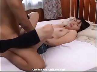 Sweet Asian School Girl - More Videos On AsianSchoolGirlCam.com