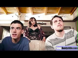 (Cytherea) Sexy Busty Housewife In Hardcore Sex Tape clip-08