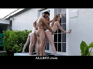 Pool Party BFFs Tag Team Big Ethnic Cock | Lilo Mai | Melody Marks