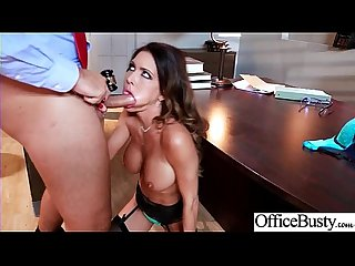 (Jessica Jaymes) Round Huge Tits Office Girl Enjoy Hard Intercorse clip-13