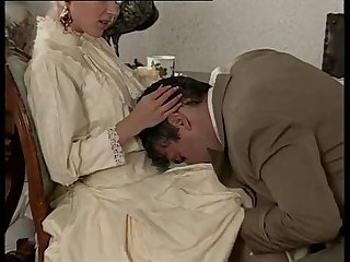 Noblewoman seduced and fucked by a horny young boy