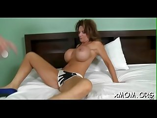 Girl cums during the time that riding