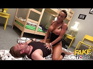 Fake Hostel - Real horny Kiwi MILF rumbles Scottish lad and uses for sex