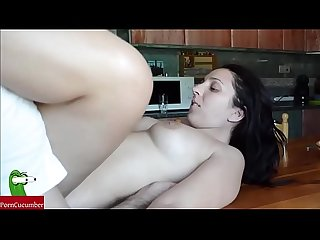 Pussy's food on the kitchen's table. SAN003
