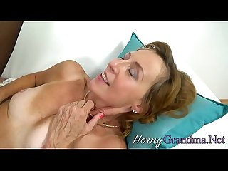 Cock bouncing old cougar