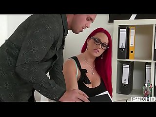 Titty Fuck Paige Delight's Huge Tits while she sucks your Cock