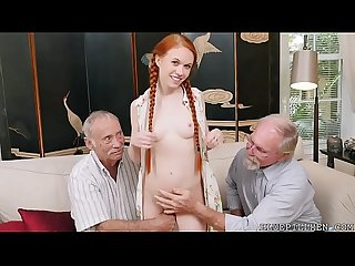 Redhead Teen Dolly Little Fucks With Lucky Grandpa