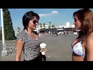 Lesbian kissing sunny leone and Mia khalifa new video must watch..
