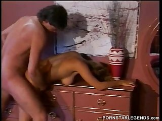 Classic slut Champagne fucked all over