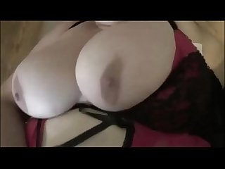 POV Cumming on a BBW Milf's Monster Titties