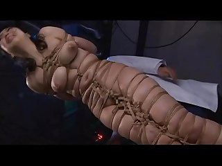 Asian cunt Ayaka Shintani bound in shibari and brutally whipped until she screams.WMV