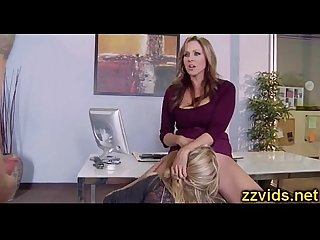 Julia Ann Olivia Austin threesome
