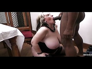 Black guy cheats on gf with her bbw mother