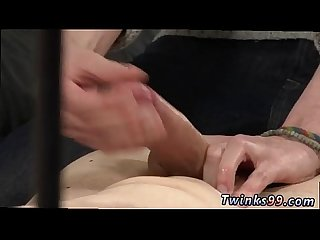 Twinks boys tube gay porno How Much Wanking Can He Take?